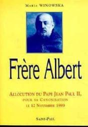 Frere Albert - Couverture - Format classique