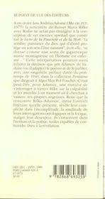 Le Livre De La Pauvrete Et De La Mort - 4ème de couverture - Format classique
