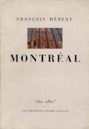 Montreal - Couverture - Format classique
