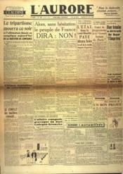 Aurore (L') N°520 du 19/04/1946 - Couverture - Format classique