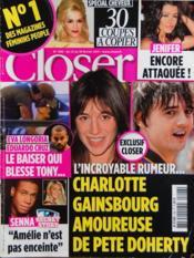 Closer N°296 du 12/02/2011 - Couverture - Format classique