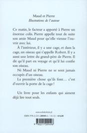 Maud et Pierre - 4ème de couverture - Format classique