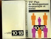 LE VIIe PLAN DE DEVELOPPEMENT ECONOMIQUE ET SOCIAL.1976-1980. - Couverture - Format classique