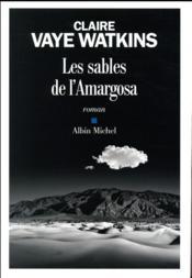 Les sables de l'Amargosa - Couverture - Format classique