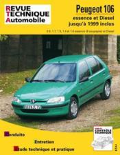 Rta 539.5 Peugeot 106 Essence 92/99 & Diesel 93/99 - Couverture - Format classique
