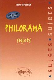 Philorama Sujets 243 Sujets Corriges - Intérieur - Format classique