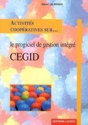 Activités coopératives sur le progiciel de gestion integré cegid - Couverture - Format classique