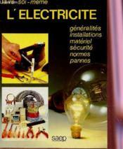 L'electricite - Couverture - Format classique