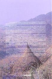 Princes Montagnards T.1 Du Nord-Cameroun - 4ème de couverture - Format classique