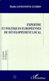 Expertise et politiques européennes de développement local - Intérieur - Format classique