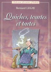 Quiches, tourtes et tartes - Intérieur - Format classique