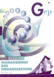 Management ; 1ere Stg ; Enonce - Couverture - Format classique