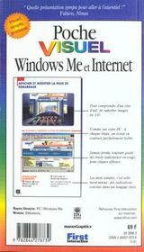 Visuel Windows Me Et L'Internet - 4ème de couverture - Format classique