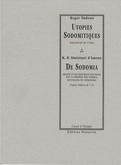 Utopies sodomitiques / de sodomia - Intérieur - Format classique