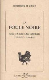 La Poule Noire - Science Talismans - Anneaux - Couverture - Format classique