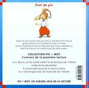 Le Petit Gouter - 4ème de couverture - Format classique