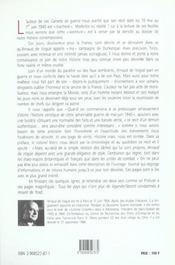Carnets De Guerre - Ma Campagne Dunkerque 10 Mai 1940 - 1er Juin 1940 - 4ème de couverture - Format classique