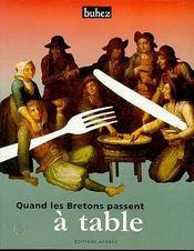 Quand les bretons passent a table - Intérieur - Format classique
