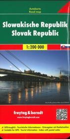 République slovaque 1/200 000 - Couverture - Format classique
