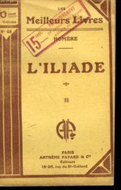L'Iliade. Tome 2. Collection : Les Meilleurs Livres N° 48. - Couverture - Format classique