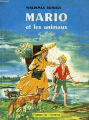Mario Et Les Animaux. Collection : Flammarion Jeunesse N° 14 - Couverture - Format classique