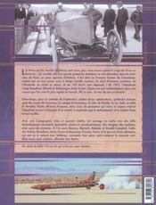 Records De Vitesse Auto, Un Siecle De Defis - 4ème de couverture - Format classique