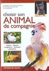 Choisir Son Animal De Compagnie - Intérieur - Format classique