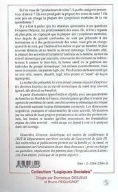 Le Travail Domestique De Sante - 4ème de couverture - Format classique