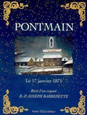 Pontmain - Couverture - Format classique