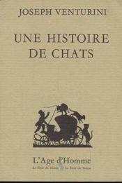 Une Histoire De Chats - Couverture - Format classique