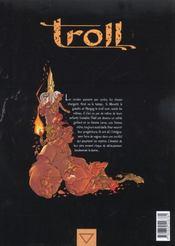 Troll t.4 ; en vers et contre tous - 4ème de couverture - Format classique