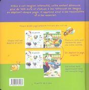 Jeux d'images ; jeux de mots - 4ème de couverture - Format classique