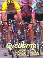 Cyclisme 2003-04 - Intérieur - Format classique