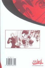 Yaiba t.1 - 4ème de couverture - Format classique