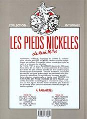 Les pieds nickelés ; intégrale t.11 - 4ème de couverture - Format classique