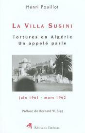 Villa susini- tortures en algerie - Intérieur - Format classique