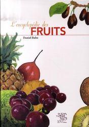L'encyclopédie des fruits - Intérieur - Format classique