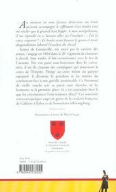 Souvenirs militaires du colonel de gonneville - 4ème de couverture - Format classique