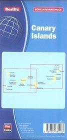 Îles des canaries - 4ème de couverture - Format classique
