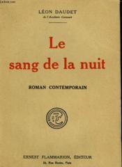 Le Sang De La Nuit. Suite De Un Jour D'Orage. - Couverture - Format classique