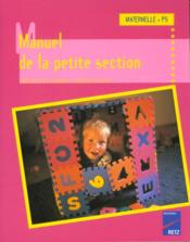 Manuel De La Pte Section Mater - Couverture - Format classique