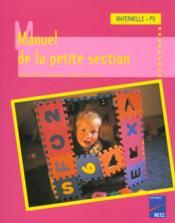 Manuel De La Pte Section Mater - 4ème de couverture - Format classique