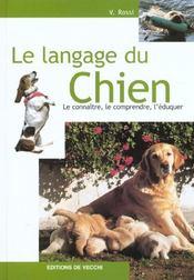 Langage Du Chien (Le) Relie - Intérieur - Format classique