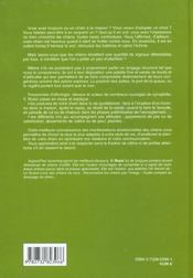 Langage Du Chien (Le) Relie - 4ème de couverture - Format classique