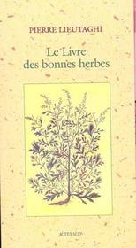 Le livre des bonnes herbes - Intérieur - Format classique