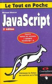 Le Tout En Poche Javascript - Intérieur - Format classique