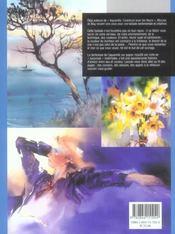 Aquarelle ; peindre avec ses sentiments - 4ème de couverture - Format classique