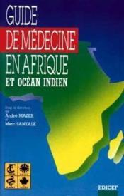 Guide de medecine en afrique - Couverture - Format classique