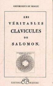 Les Veritables Clavicules De Salomon - Couverture - Format classique