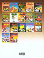 Les Bidochon T.17 ; Les Bidochons Usent Le Forfait - 4ème de couverture - Format classique